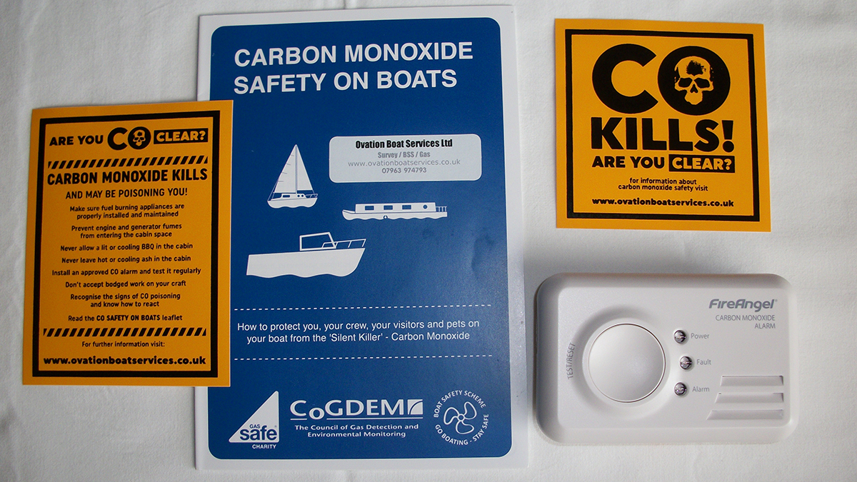 A number of navigation authorities require the four yearly Boat Safety Scheme check to help prevent fire, explosion and pollution